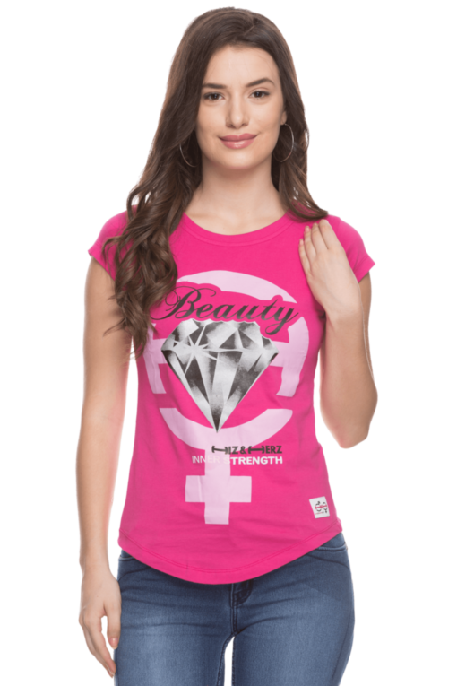 Female T-shirt attractive and cute